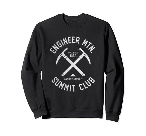 Engineer Mountain Summit Club | I Climbed Engineer Mountain Sweatshirt