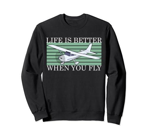 Rc Airplane Design Remote Control Plane Hobbyist Sweatshirt