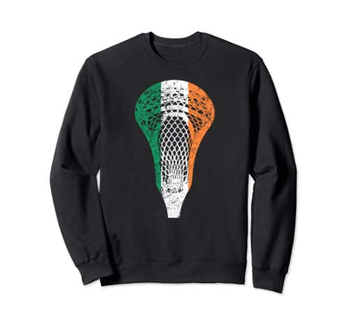 Irish Lacrosse   Ireland Flag Lax Sweatshirt