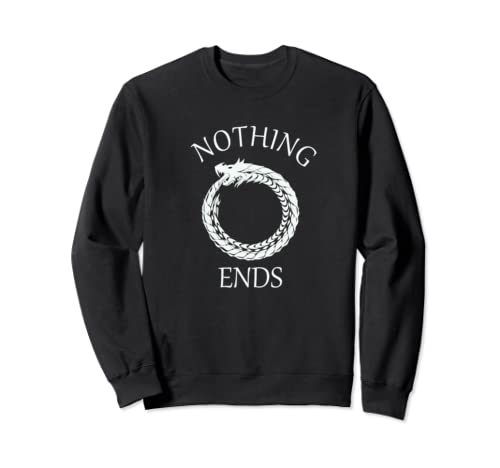 Ouroboros Norse Mythology Samsara Snake Eating Its Tail Sweatshirt
