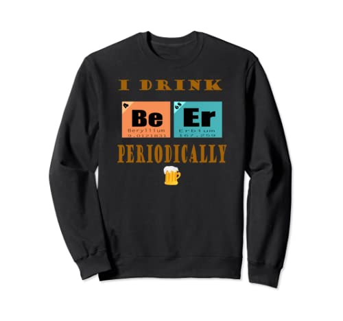 Funny Craft Beer Home Brewer Microbrewery Periodic Table Sweatshirt
