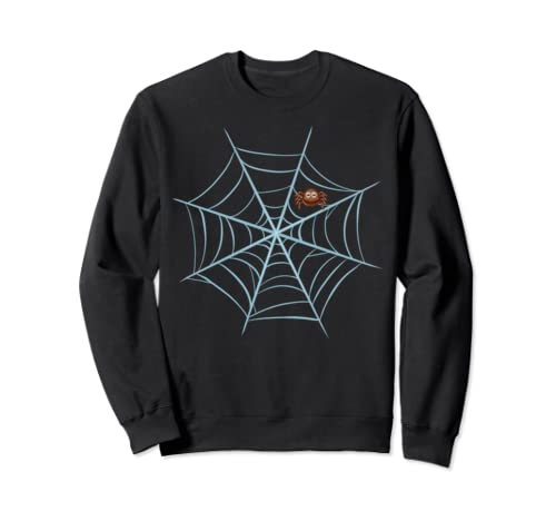 Funny Spider Web Diy Halloween Night Party Costume Tee Sweatshirt