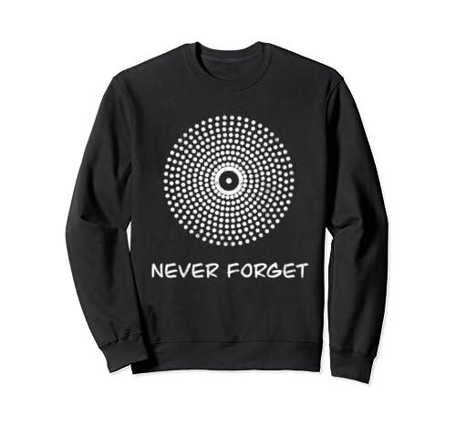 Never Forget Funny Ndb Pilot Gift Sweatshirt