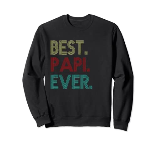 Best Pa Pi Ever Vintage Father's Day Gifts Sweatshirt