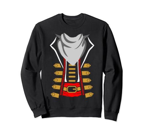 Cute Pirate Costume Idea Vintage Halloween Party Sweatshirt