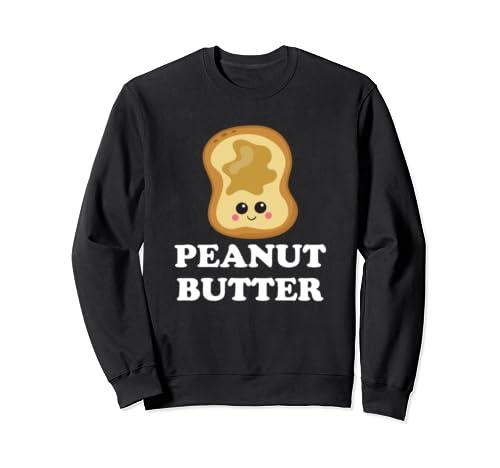 Peanut Butter Matching Bff Sweatshirt