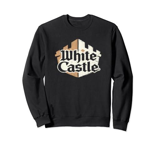 White Castle Torn Logo Sweatshirt