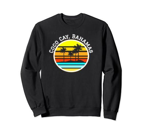 Coco Cay Bahamas Shirt Vacation Shirts Palm Trees Sunset Sweatshirt