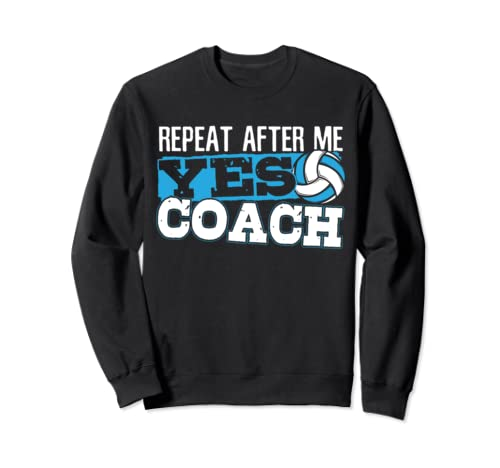 Funny Volleyball Training Gift For A Volleyball Coach Sweatshirt