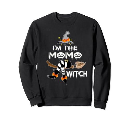 Grandma Tee   I'm The Mo Mo Witch   Halloween Sweatshirt