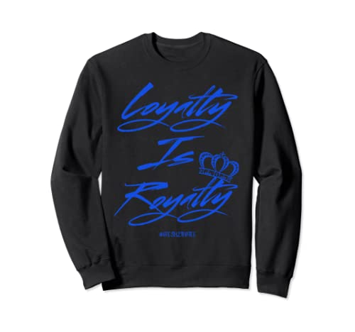 Shirt Made To Match Jordan 12 Game Royal Sweatshirt