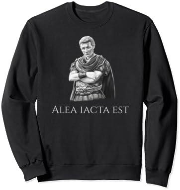 Alea Iacta Est Hoodie Capuche Julius Caesar taux Emperor Roman Empire