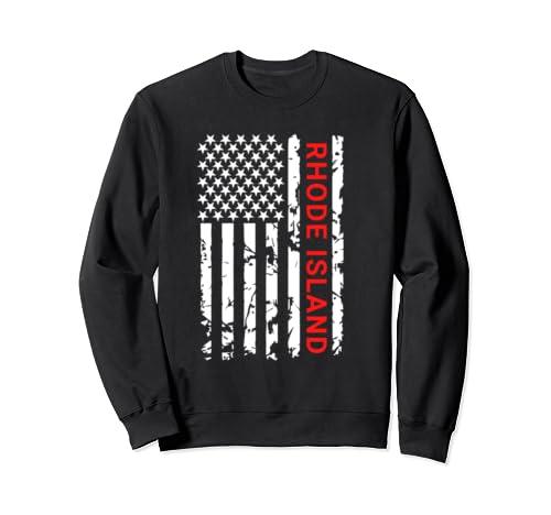 Rhode Island  Mens & Womens Gift & Souvenir Sweatshirt