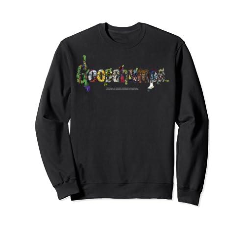 Goosebumps Monsters Inside Large Logo Poster Sweatshirt
