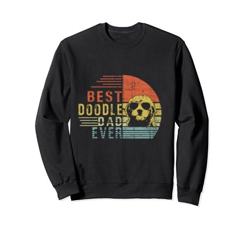 Mens Best Doodle Dad Ever T Shirt Goldendoodle Dad Gift Sweatshirt