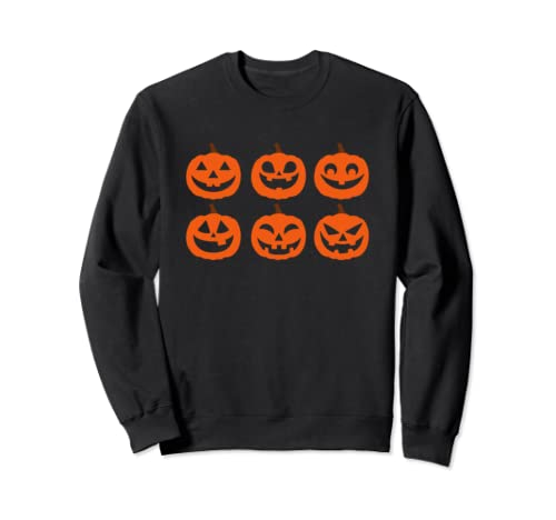 Funny Jack O Lantern Pumpkin Face Halloween 2019 Sweatshirt