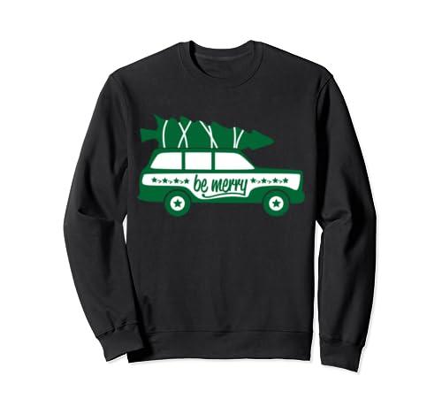 Christmas Van Be Merry Christmas Tree Sweatshirt