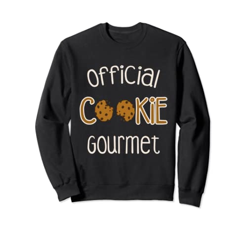 Cookie Official Tester Christmas Baking Team Xmas Santa Gift Sweatshirt