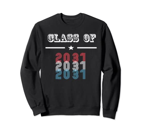 Class Of 2031 Grow With Me T Shirt   Sweatshirt