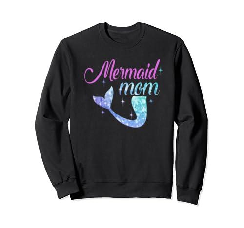 Mermaid Mom Mother's Day Mermom Bridesmaid Party Gift/Tee/ Sweatshirt