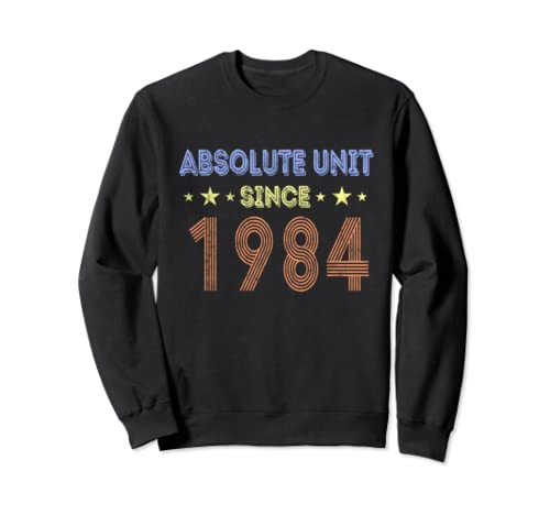 35th Birthday Since 1984 Funny 35 Year Retro Vintage T Gifts Sweatshirt