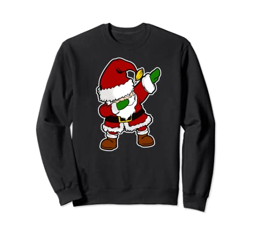 Santa Dabbing Christmas Party Gift Sweatshirt