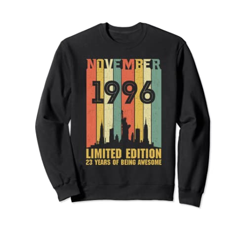 November 1996 23 Year Old Shirt 1996 Birthday Gift Sweatshirt