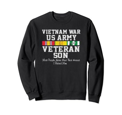 Us Army Vietnam War Veteran Son Veteran's Day Gift Sweatshirt
