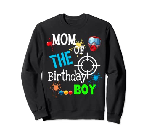 Paintball Birthday Matching Family Set Outfit  Sweatshirt