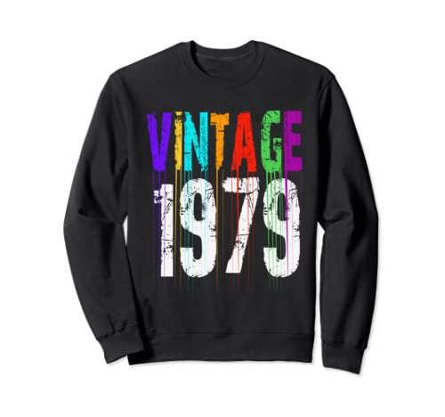 40th Birthday Vintage 1979 Gifts For Men Women Mom Dad Gift Sweatshirt