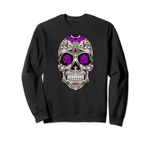 Dia De Muertos Skull I Day Of The Dead Celebration Sweatshirt