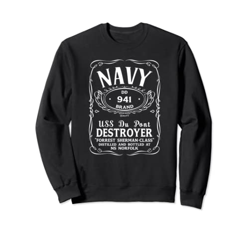 Uss Du Pont Dd 941 Sweatshirt
