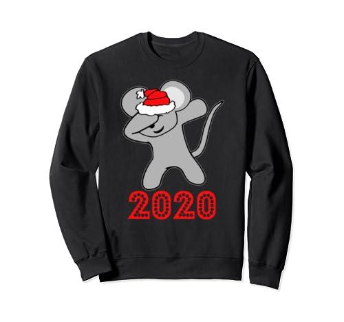 Christmas Dabbing Rat Shirt Christmas Tshirts For Women Sweatshirt