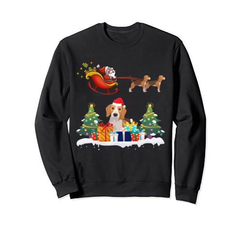 Beagle Christmas Santa Merry Christmas Gift Sweatshirt