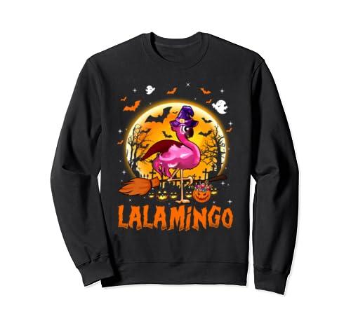 T Shirtmingo   Flamingo Halloween Sweatshirt