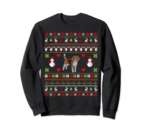 Christmas Gifts For Dog Lovers Beagle Ugly Christmas  Sweatshirt
