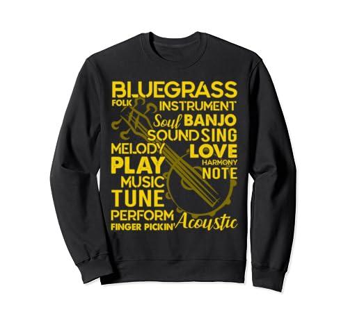 Banjo   Love Banjo Sweatshirt