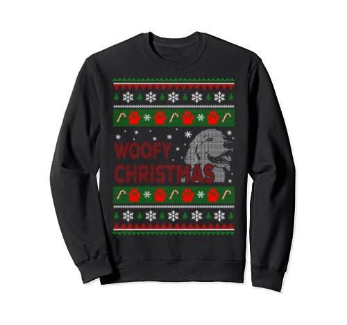 Woofy Christmas Ugly Christmas Sweatshirt