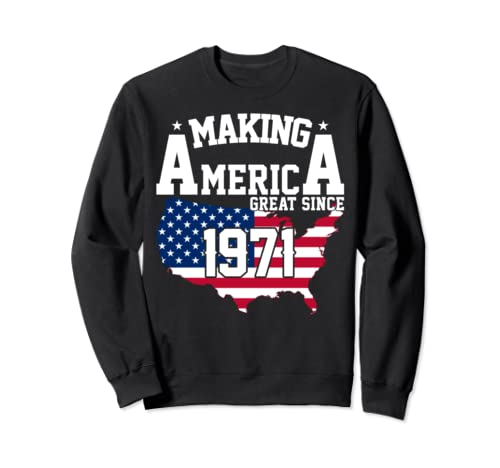 Happy 1971 It's My 48th Years Old Birthday Gift Ideas Sweatshirt