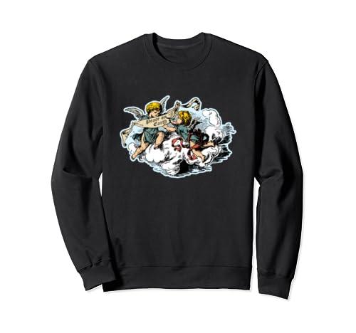 Cherubs & Angels Peace On Earth With Clouds Sweatshirt