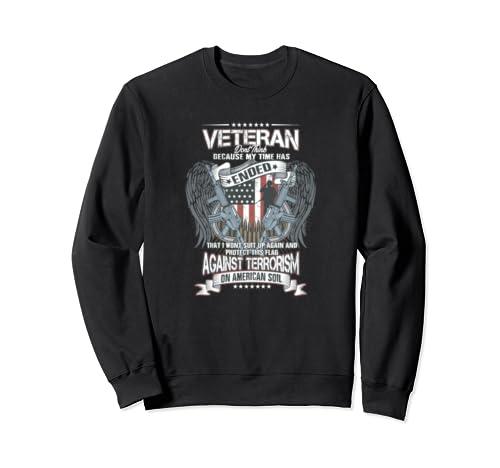 Protect American Soil Anti Terrorism Pro 2 A Proud American Sweatshirt
