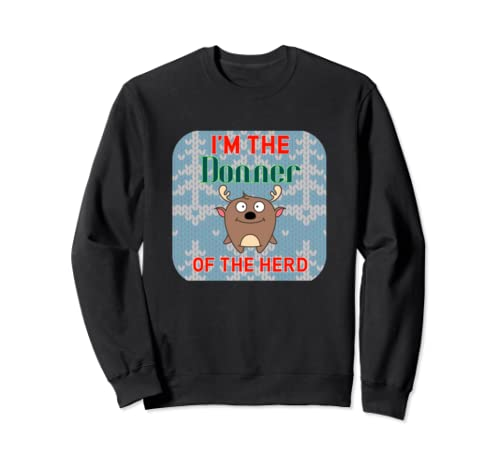 Donner Christmas Family Matching Reindeer Sweatshirt