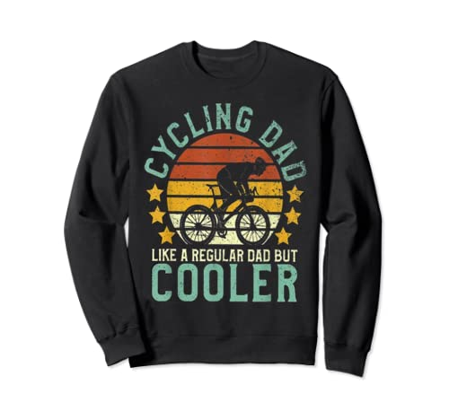 Mens Cycling Dad ,Funny Cycling  Father's Day Gift  Sweatshirt