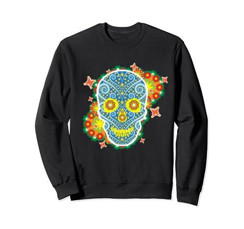 Sugar Skull Shirt   Day Of The Dead Shirt  Sweatshirt