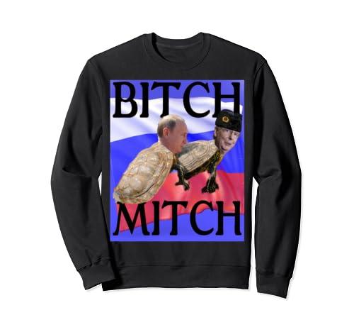 Moscow Mitch Turtle Fucked Putin Fucking Bitch Russian Hat Sweatshirt