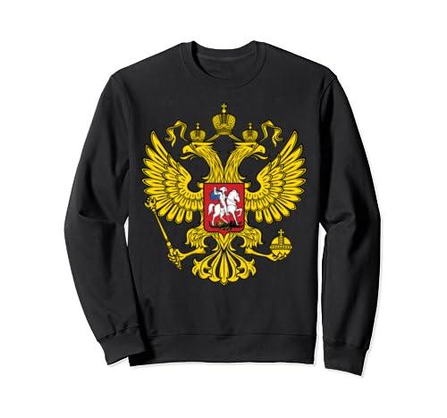 Russia Russian Coat Of Arms Ussr Soviet Cccp  Sweatshirt