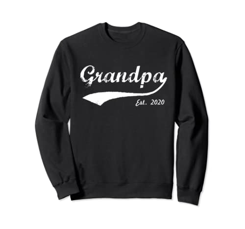 New Grandpa 2020 - Grandpa Est. 2020 - Grandpa To Be 2020 Sweatshirt