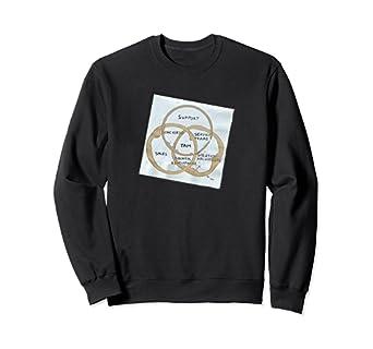 TAM Vinn Diagram Napkin Sweatshirt