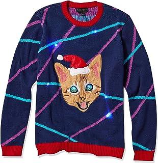 Blizzard Bay Men's Ugly Christmas Sweater Light Up