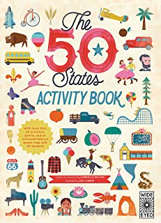 The 50 States: Activity Book: Maps of the 50 States of the USA (Volume 2)